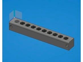 Bit storage rack (10pcs)