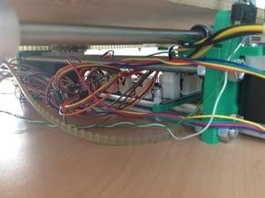 Universal printrbot electronics ( Printrboard / Sanguinololu ) ziptie mounting hook