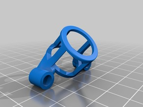 Floss 2.1 Lollipop experimental antenna mount for less frequency shifting