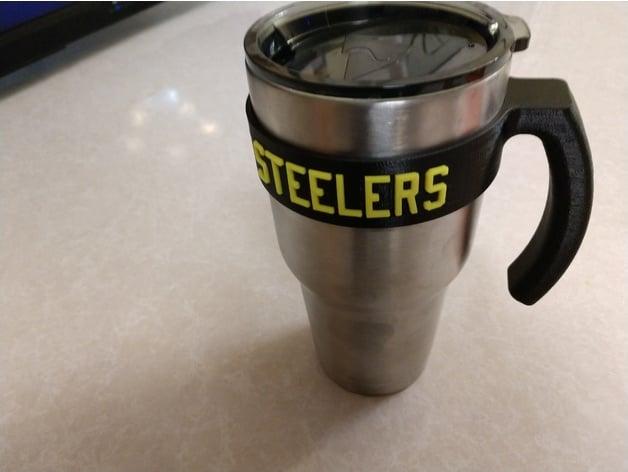 Yeti Handle 30 Oz Pittsburgh Steelers By Duket Thingiverse
