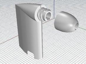 Omnimac 3DR Pitot Tube Mount v1.5