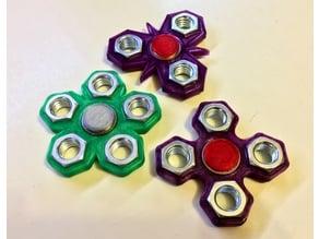 """1/2"""" Nut Fidget Spinners"""