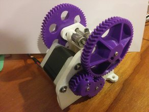Dual Drive Bowden Extruder