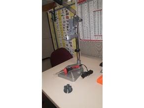 Heat stake insert tool collar