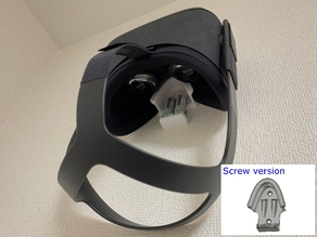 Oculus Quest Goggles and AA batteries Wall Mount with Stapler or Screws