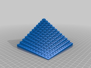 12x12 Multiplication Table in 3D