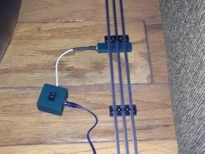 3 Rail Track Power Block