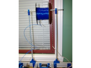 Another Spool Holder for an aluminium extrusion based 3D printer