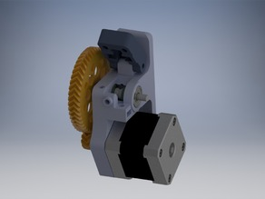 A bowden geared wades/gregs extruder for Kossel/Delta for 1.75mm filament