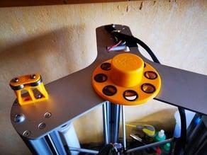 Spulentellerauflage und Adapter 75mm für Vertex K8800