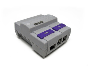 SNES mini Raspberry Pi Case