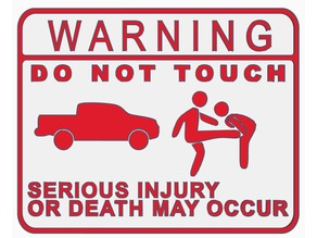 Do Not Touch Truck (Kicking Version)
