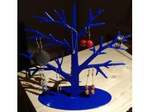 Support bijoux en forme d'arbre