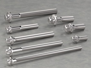 20 Hexalobular screws Collection/Confiurator by Dape
