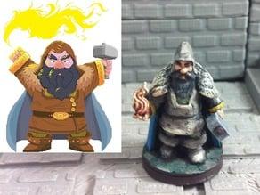 Morek Brightstone, Outcast Dwarven Sorcerer