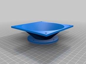 12V Mini Cyclone Vacuum - 120mm Axial Fan