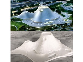 George Lucas Museum of Narrative Art, Chicago IL - Scale Model