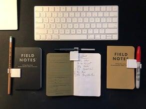 Pocket notebook clip