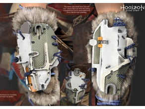 Aloy Arm and Knee Bracers