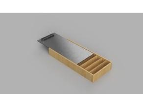 Resistor storage box