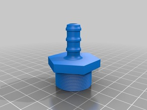 Barbed Faucet Adapter