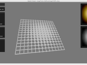 Image to Halftone to Printable Object