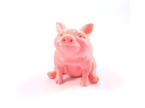 Piggy Sitting(Sir Pigglesfree): Single Extrusion Version