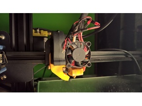 Radial Fan duct for CR-10