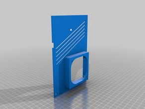 Ender 3 Board Cover 60mm Fan