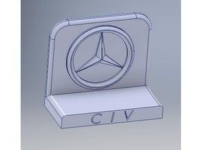 Mercedes Logo (for desk)