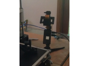 Raspberry Pi / Pi Zero W GoPro-style Camera Mount