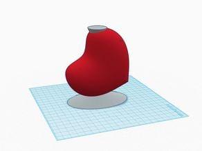 Heart (SRDCE) vase