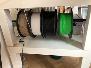 Filament Holder (Ikea Lack)