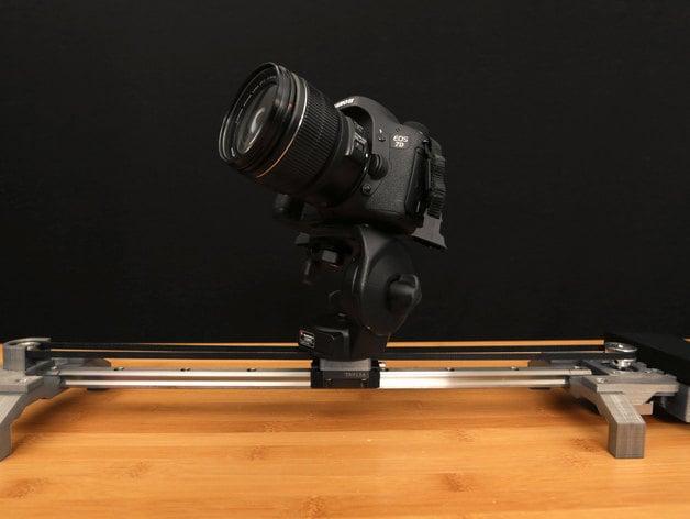 Bluetooth motorized camera slider by adafruit thingiverse for Stepper motor camera slider