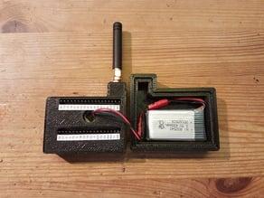 Battery Mod for my Heltec ESP32 LoRa Wifi Case // Akku Mod für mein Heltec ESP32 LoRa Wifi Gehäuse