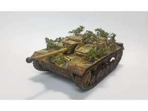 Stug iii G Tank 1:56 scale (28mm)