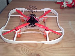 Prop safety/crash cage for Martian 95mm Brushed FPV Quad