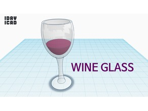[1DAY_1CAD] WINE GLASS