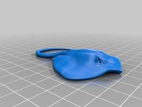 エイ(Ray)3Dデータ