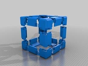 cube of Bracket 80x48x48 mm thick 8mm v2