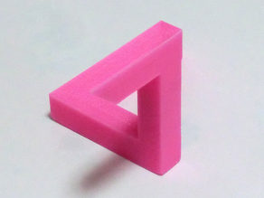 Paradox Illusions Design - Penrose triangle