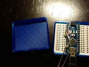 Quarter Size BreadBoard & Arduino Nano Case