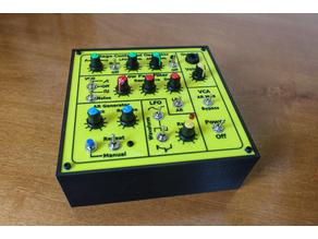 MFOS Noise Toaster Synthesizer Case and Panel