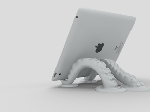 Octopus Tablet Stand Version Two