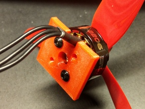 FT Mini Firewall for Racing Quad Motors
