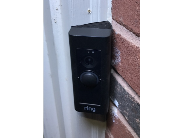 Ring Video Doorbell Pro 30 Degree Wedge Mount By Spectregadget