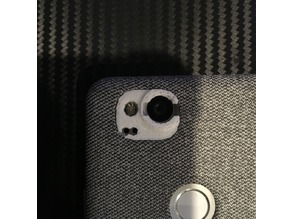 Moment lens adapter for Pixel 2 Fabric case