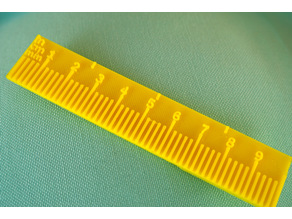 Simple Pocket Ruler