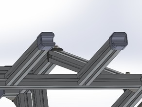 Spool holder for 2020 aluminum extrusion ( Roxanne upgrade )