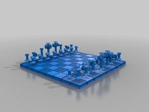 ROHR-SCHACH / Chessboard PIPE